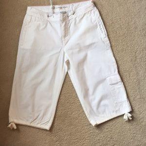 Tommy Hilfiger White Capri Pants